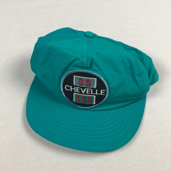 4f5202bbcd1 Vintage Chevy SS chevelle 396 Hat 90 s SnapBack. M 5ae69a3b3800c541e0a73a84